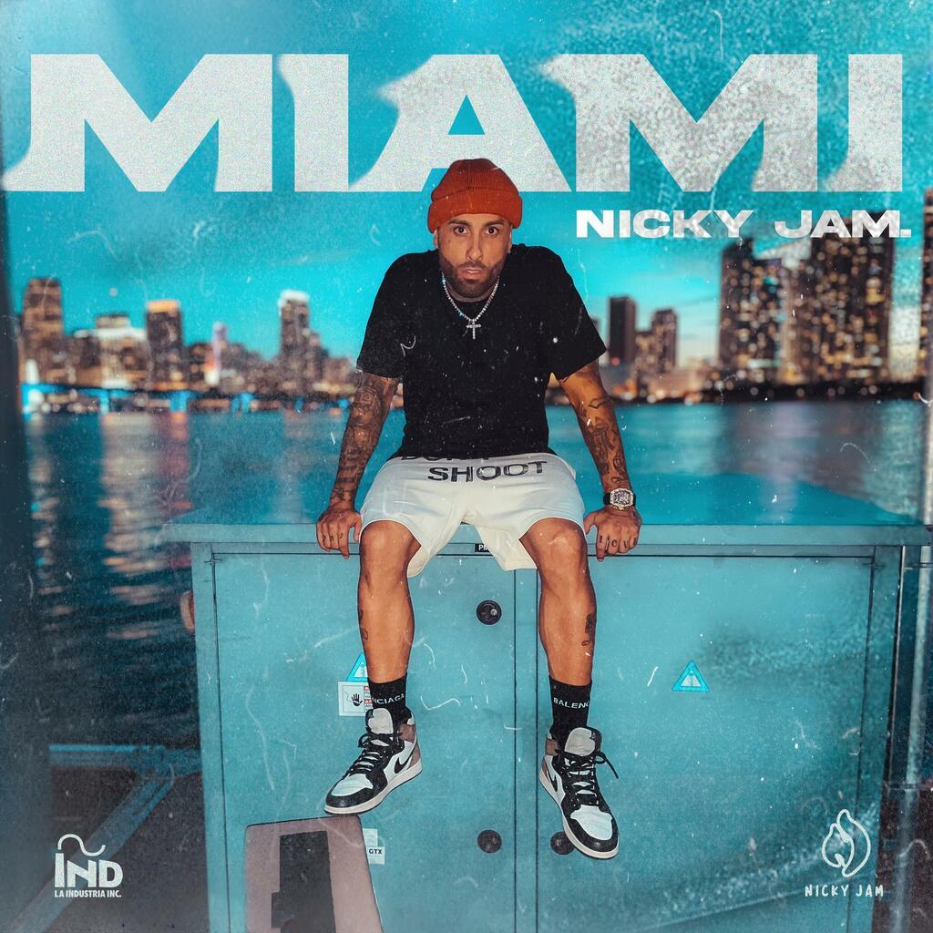 """In digitale il nuovo singolo """"Miami"""" di Nicky Jam"""