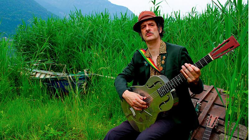 """""""Sarneghera Stomp"""": una tempesta di blues nel nuovo album di Cek Franceschetti"""