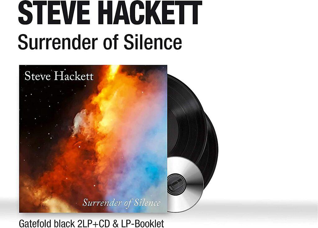 Steve Hackett - Surrender Of Silence (2 LP + Cd + Booklet)