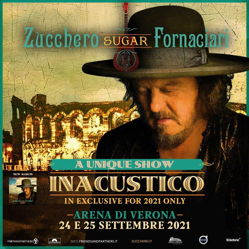 """Zucchero """"Sugar"""" Fornaciari - Inacustico 2021"""