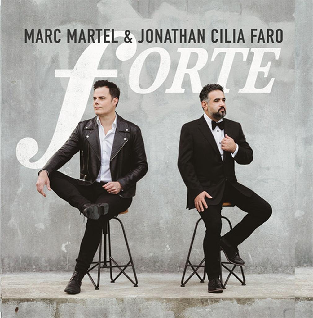 """""""Forte"""": il nuovo EP di Marc Martel e Jonathan Cilia Faro"""