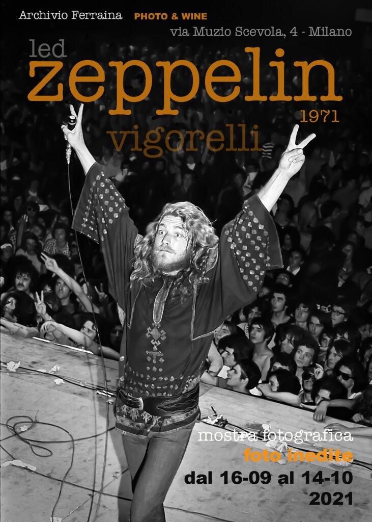 Mostra fotografica: le foto inedite dei Led Zeppelin al Vigorelli (5 Luglio 1971)
